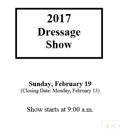 dressage-date